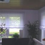 Wohnzimmer Raffgardine